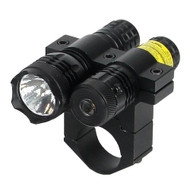 """650nM Red Laser - w/80 Lumen Light, 1"""" Mount"""