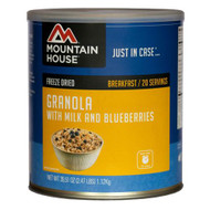 Breakfasts - Granola with Milk and Blueberries, 20 Servings