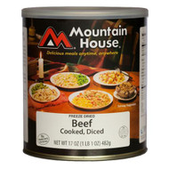 Sides and Meats - Diced Beef, 15 Servings