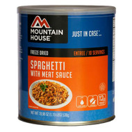 Entrees - Spaghetti with Meat Sauce, 10 Servings