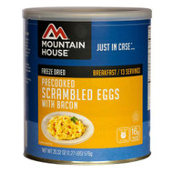 Breakfasts - Scrambled Eggs with Bacon, 13 Servings