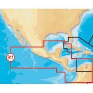 Navionics Platinum+ Mexico/Central America on SD/microSD