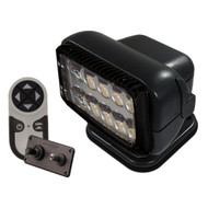 Golight Permanent RadioRay LED w/Wireless & Dash Remote - Black