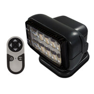 Golight Permanent RadioRay LED w/Wireless Hand-Held Remote - Black