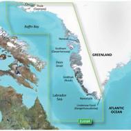 Garmin BlueChart g2 HD - HEU058R - Greenland West - microSD/SD