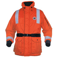 Mustang ThermoSystem Plus Coat - MED - Orange/Black