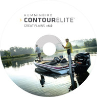Humminbird Contour Elite - DVD PC Software - Great Plains - Version 4