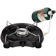 Stove Portable Propane - 1 Burner, Low Profile
