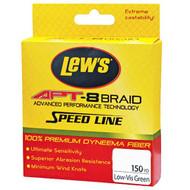 APT-8 Braid Speed Line - 30 lbs, 150 Yards, Low-Vis Green