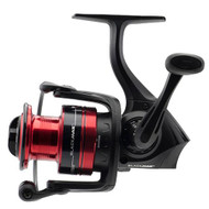 "Black Max Spinning Reel - 5, 5.2:1 Gear Ratio, 6 Bearings, 20 1/2"" Retrieve Rate, Ambidextrous, Clam Pack"