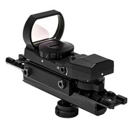 AR Carry Handle & Red/Grn 4 Ret Refles Optic