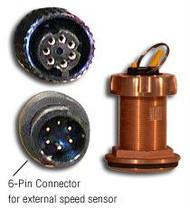 Furuno 235DHT-MSE High-Performance Bronze Thru-hull Smart Sensor Depth/Temp