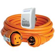 SmartPlug 30 Amp Dual Configuration 50' Cordset w/Twist-Type Connection  & 30 Amp Non-Metallic White Inlet