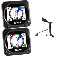 B&G Triton Speed/Depth/Wind Package w/2 Triton Displays
