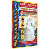 Fishing Hot Spots PRO - Great Lakes 2017 f/Lowrance & Simrad GPS Units & Chartplotters
