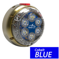 Bluefin LED DL12 Underwater Dock Light - Surface Mount - 24V - Cobalt Blue