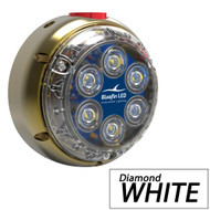 Bluefin LED DL12 Underwater Dock Light - Surface Mount - 24V - Diamond White