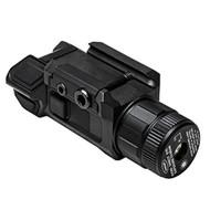 Pistol Laser with Strobe - Green Laser, Strobe, Black
