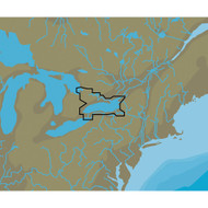 C-MAP NT+ NA-C113 Lake Ontario & The Trent Severn - C-Card Format