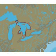 C-MAP NT+ NA-C107 Lake Huron, Georgian Bay & North Channel - C-Card Format