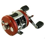 "Ambassadeur Pro Rocket Casting Reel - 5501, 5.3:1 Gear Ratio, 25.50"" Retrieve Rate, 3 Bearings, Left Hand"
