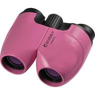 10x25mm Binocular - Porro Prism, Blue Lens, Pink