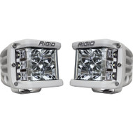 Rigid Industries D-SS Flood - Pair - White/White LED