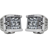 Rigid Industries D-SS Spot - Pair - White/White LED