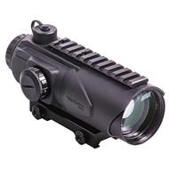 Wolfhound Prismatic Sight - 6x44mm, LR-308 LQD, Black
