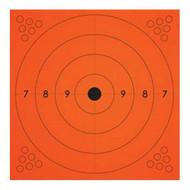 "Adhesive Target, Orange (10 Pack) - 13x13"""