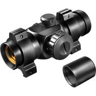 Red Dot - 25mm, Short Tube, Black