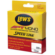 APT Monofilament Speed Line - 6 lbs, 500 Yards, Clear