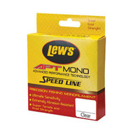 APT Fluorocarbon Speed Line - 17 lbs, 1000 Yards, Transparent Clear