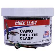 Camo Hat/tie Clasp Jar, Per 100