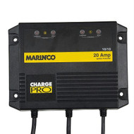 Marinco 28220 20A 2 Bank 110/230V Battery Charger