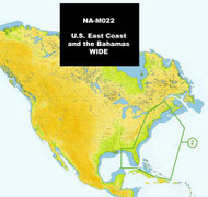 C-MAP NA-M022 Max Wide C Card East Coast And Bahamas