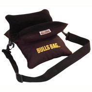 """Field Bag - with Carry Strap, Black, Polyester/Suede, (10"""")"""