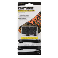 KnotBone Stretch LaceLock System - Black