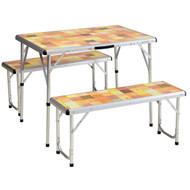 Table - Packaway Picnic Set Mosaic
