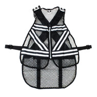 Cycling Safety Vest - Black/White