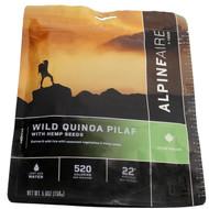 Wild Quinoa Pilaf with Hemp Crispies Serves 2