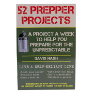 Books - 52 Prepper Projects