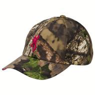 3D Buckmark Low Profile Camo Cap Mossy Oak Break-Up