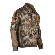 Hell's Canyon Performance Fleece 1/4 Zip Jacket - Large, Mossy Oak Breakup Country