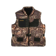Hunting Vest Adult, Camo - Medium