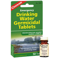Emergency Germicidal Drinking Water Tablets