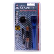 Mini-Mag Flashlight - AA Combo Pack Blister Pack, Blue