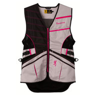 Ace Shooting Vest - Hot Pink, Large