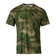 Hell's Canyon Speed Plexus Mesh Shirt - Short Sleeve, ATACS Foliage/Green, X-Large