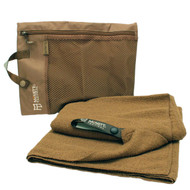 Tactical Microterry Large Towel - Coyote